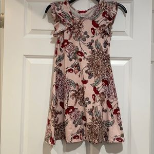 1st Kiss Girls Floral Dress Size S/M Like New